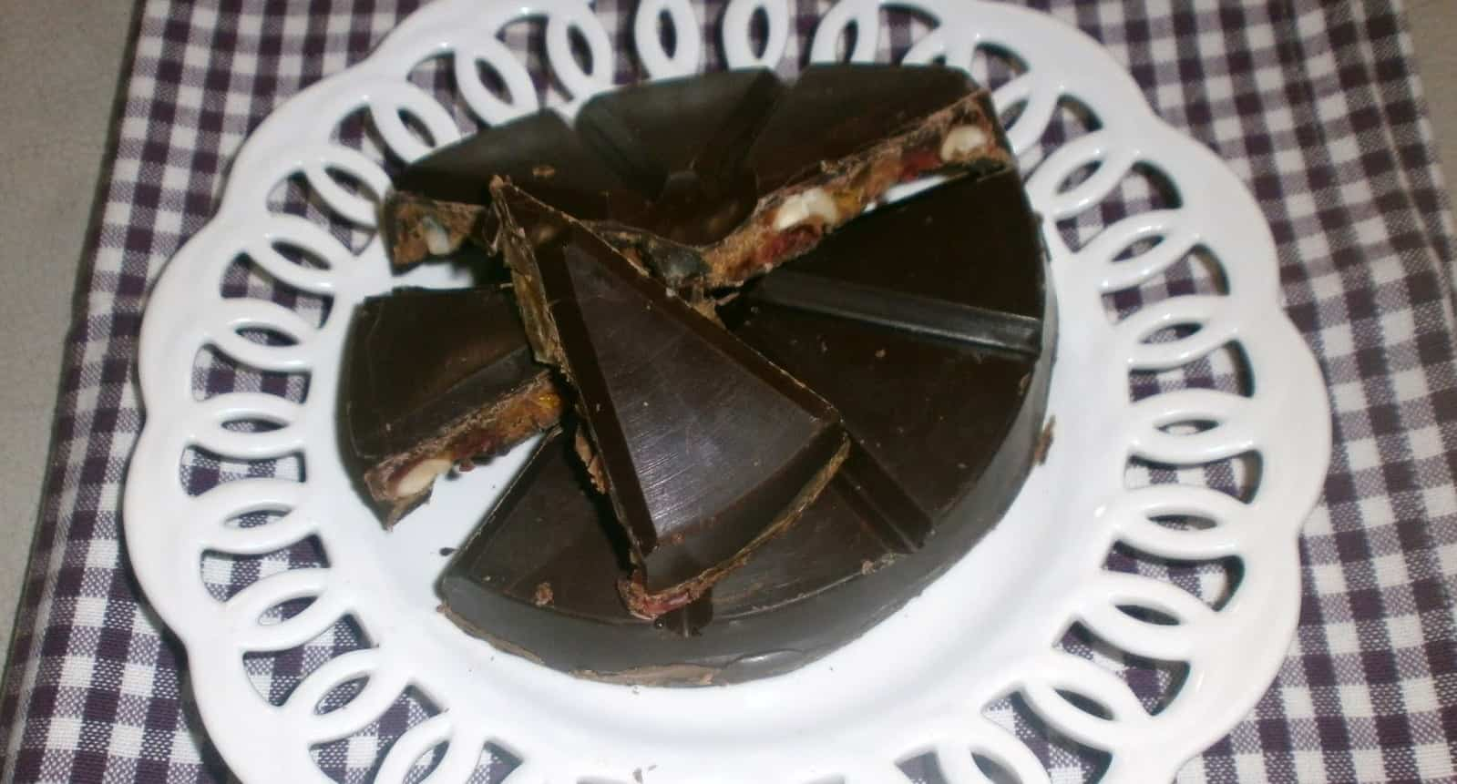 Il Panforte Glacé al cioccolato, specialità pistoiese