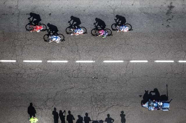 La storia del Giro d'Italia a Pistoia