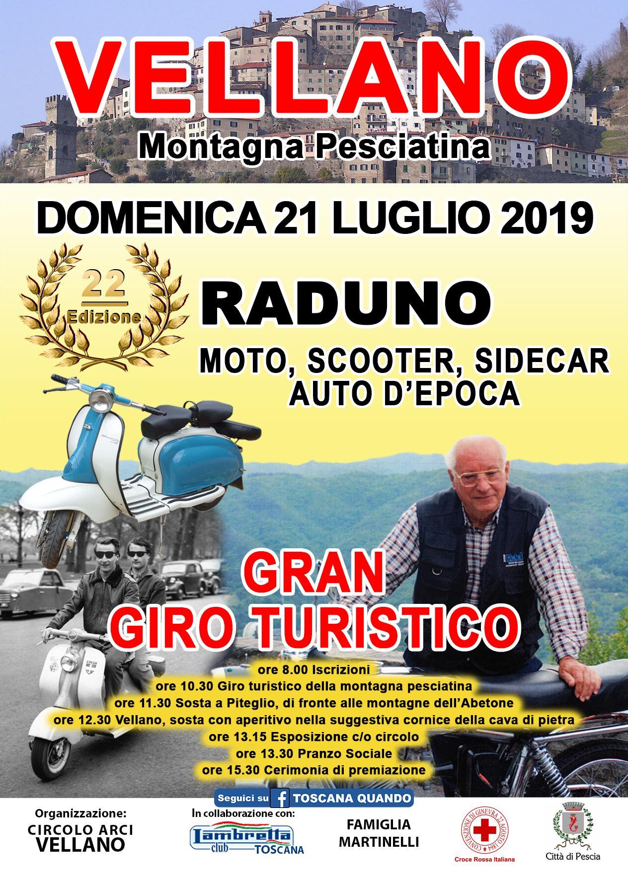 Vallenao: raduno di auto e moto d'epoca