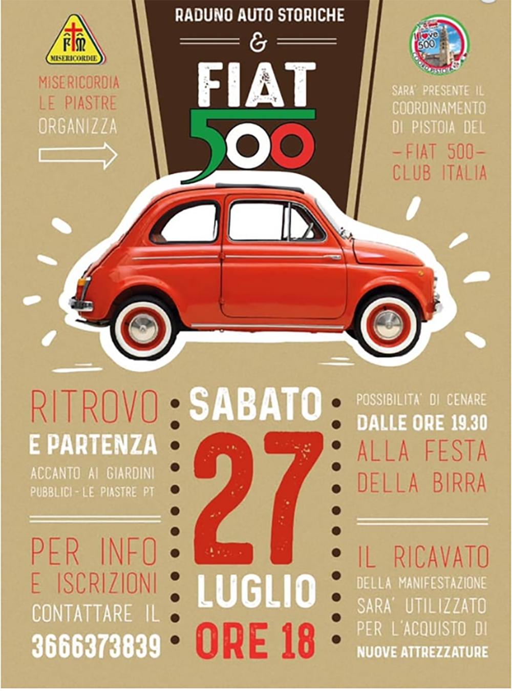 Fiat 500 in raduno
