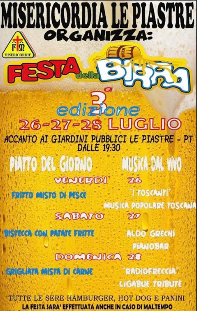 Festa della Birra a Le Piastre