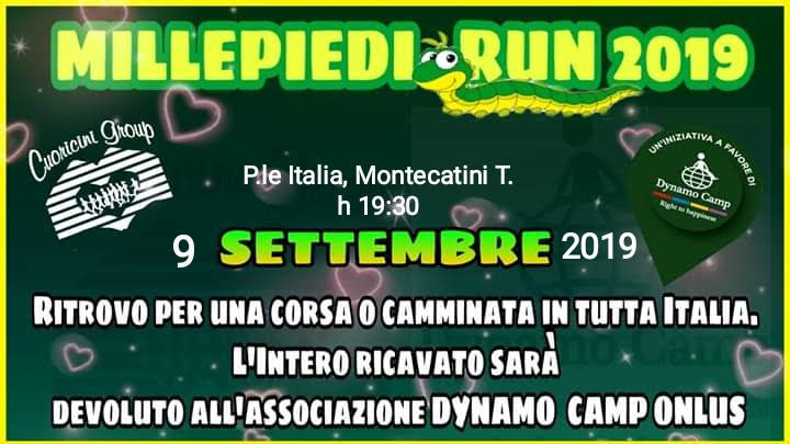 Millepiedi Run