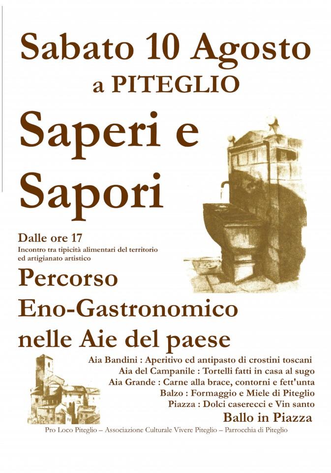 Saperi e Sapori a Piteglio