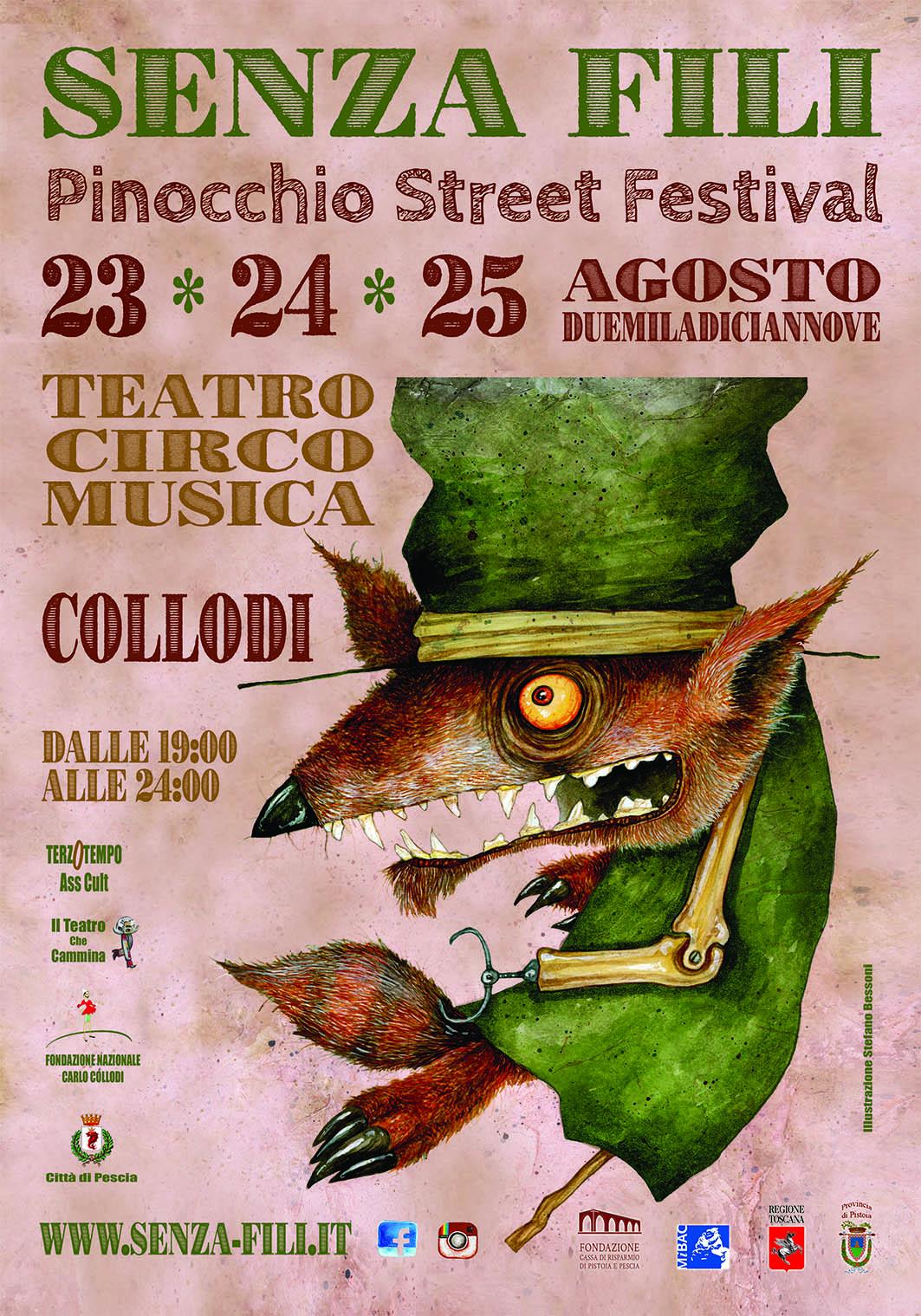 Pinocchio street festival