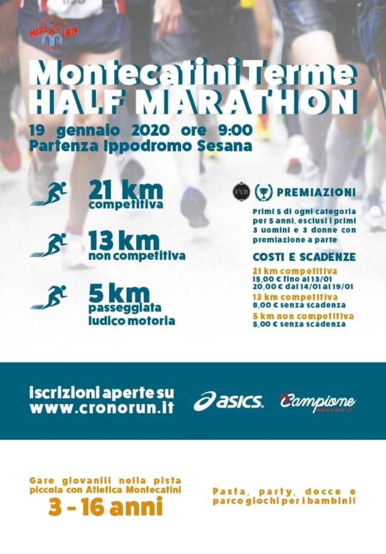 Montecatini Terme Half Marathon, 3° Edizione