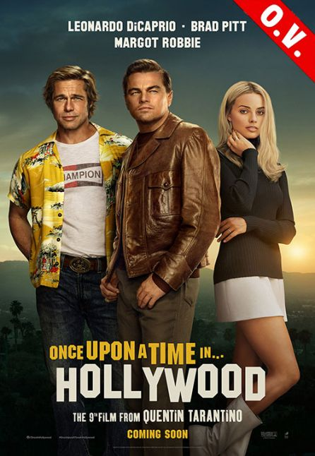 Once upon a time in… Hollywood O.V.