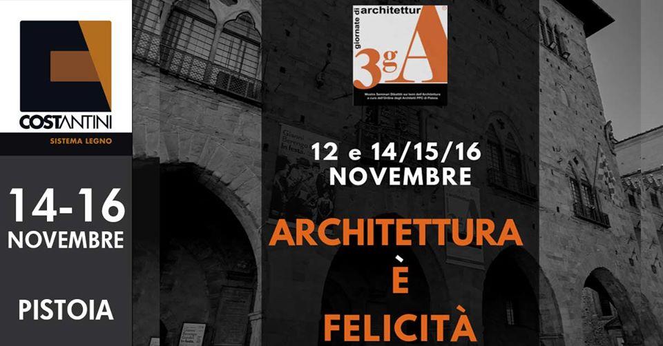 Tre Giornate di Architettura 2019