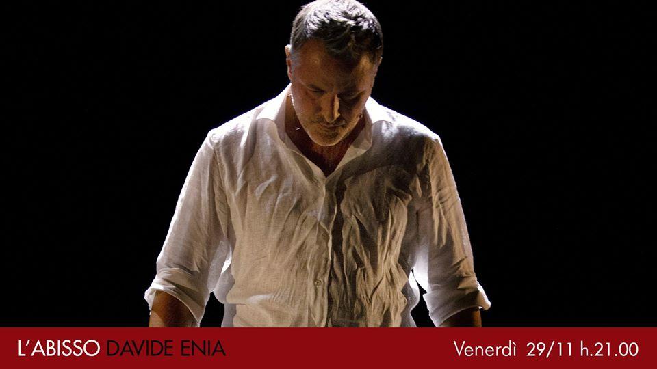 """""""L'Abisso"""" di e con Davide Enia"""