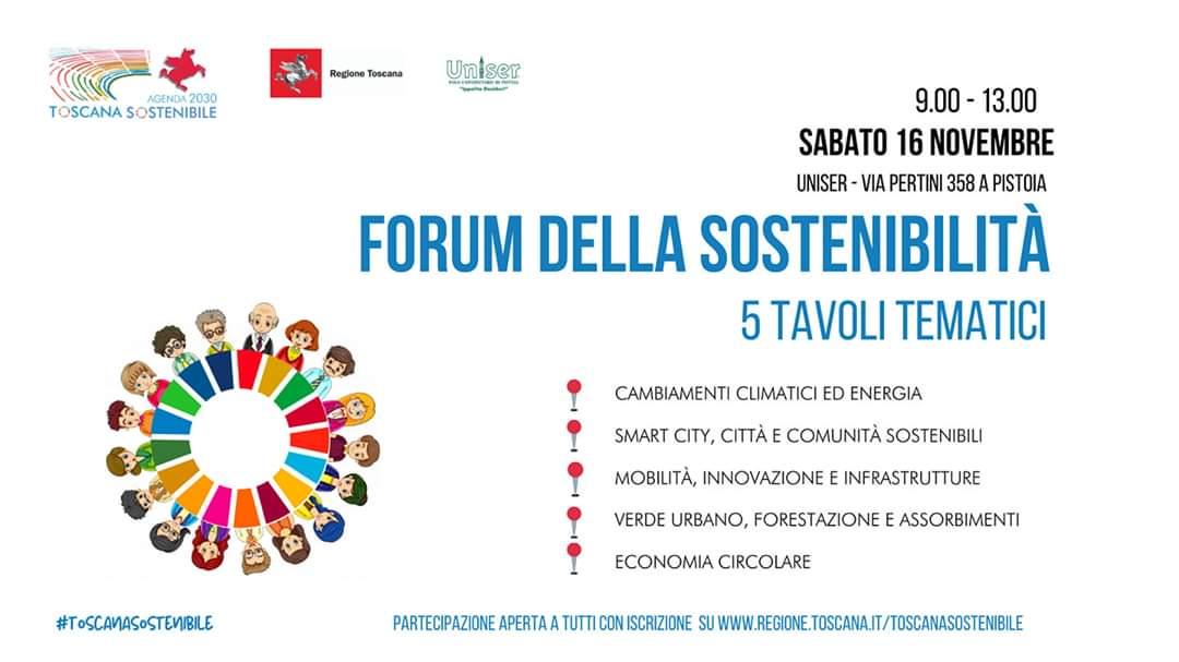 Forum della Sostenibilità – Pistoia