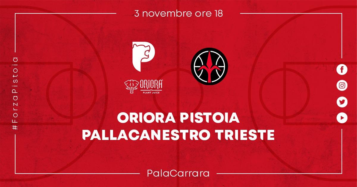 OriOra Pistoia vs Pallacanestro Trieste