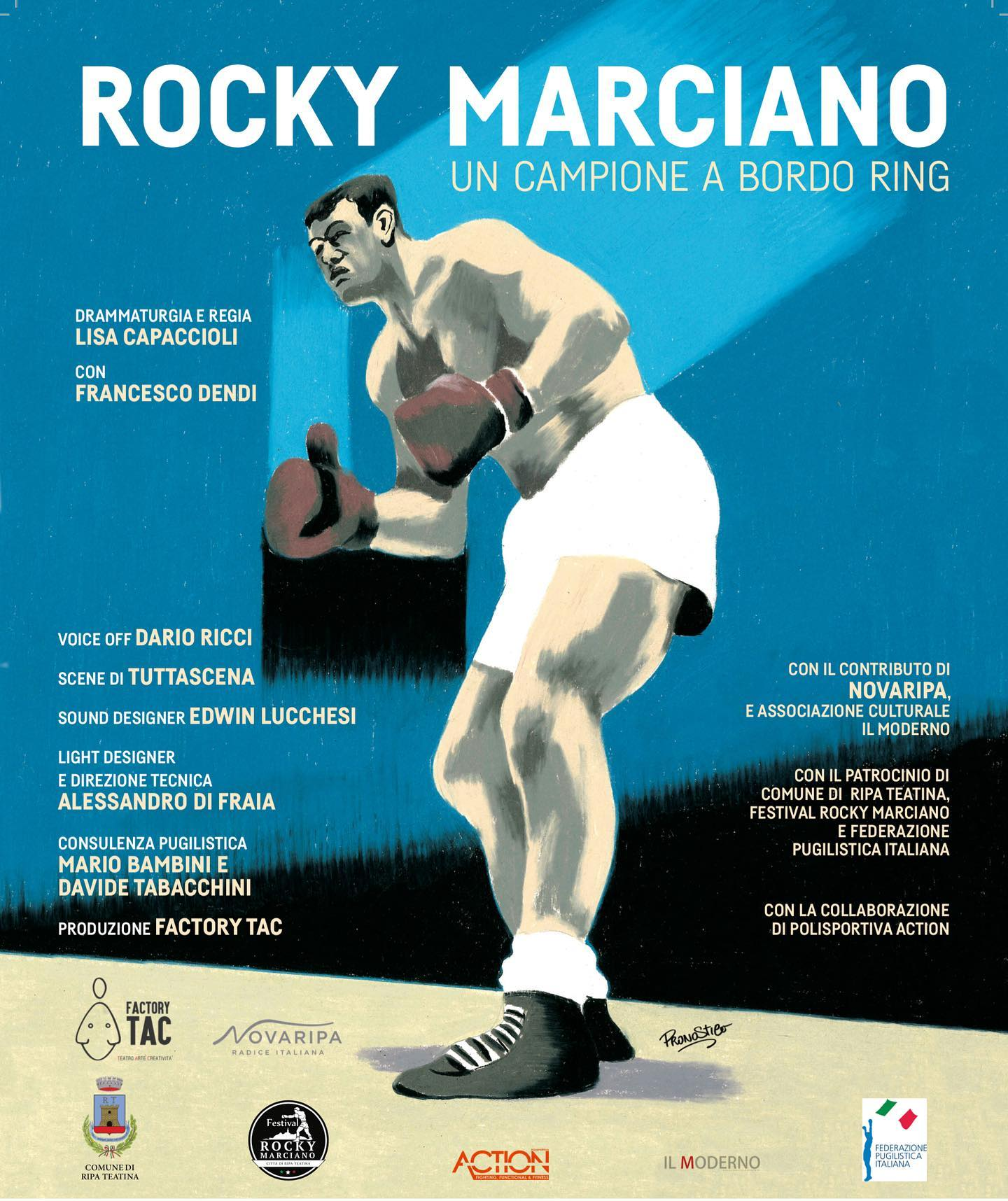 Rocky Marciano – un campione a bordo ring