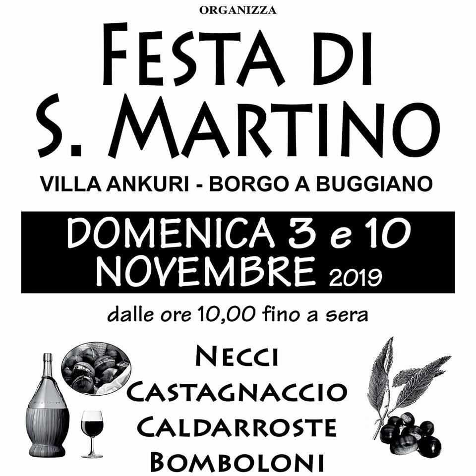 Festa di San Martino – Borgo a Buggiano