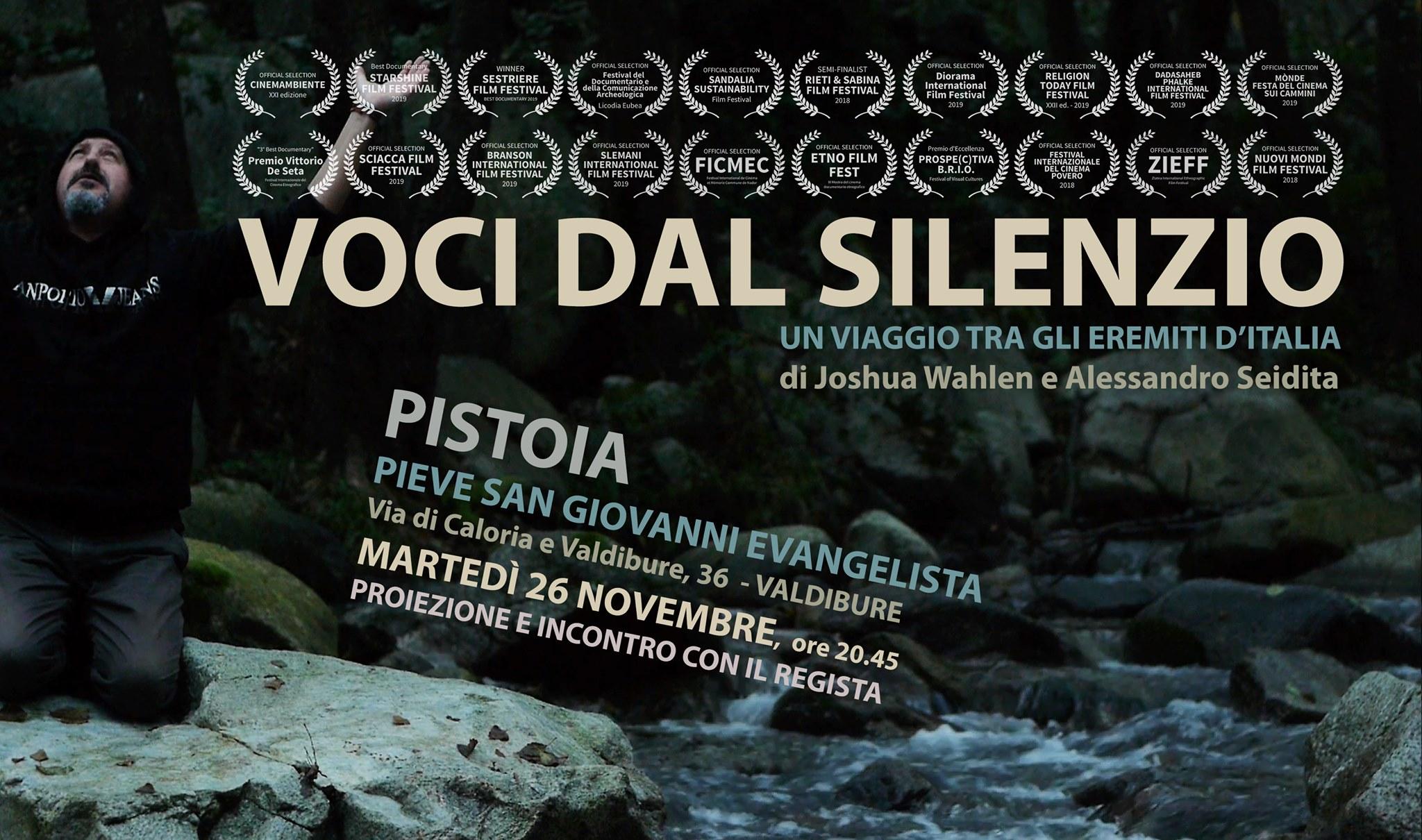 Voci dal Silenzio a Pistoia: proiezione e incontro col regista