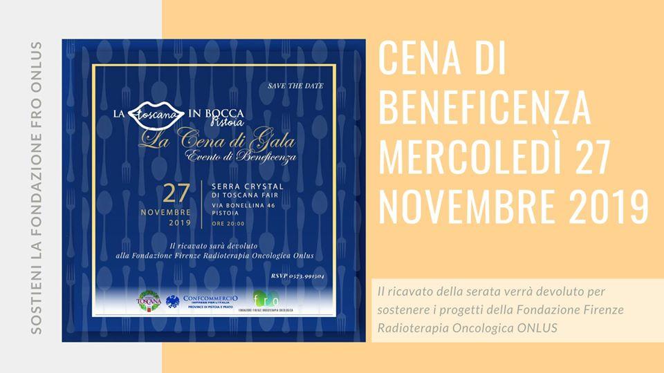Cena di Gala – La Toscana in Bocca per la FFRO – 27 Novembre