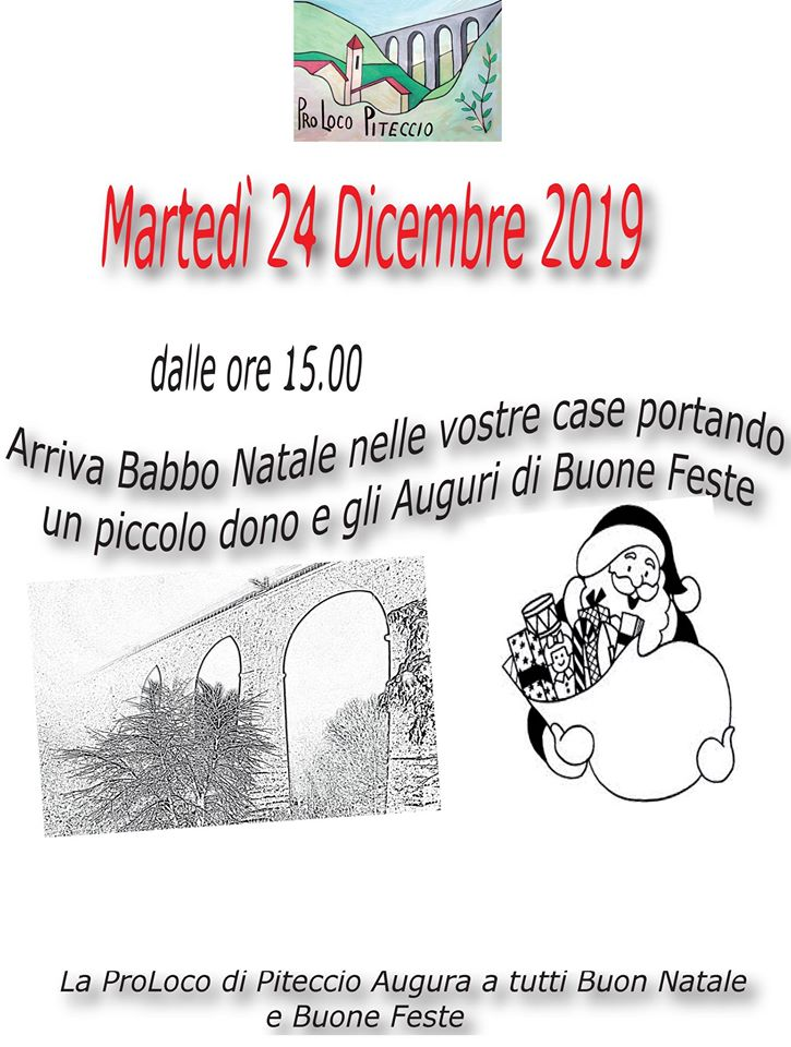 Arriva Babbo Natale 2019