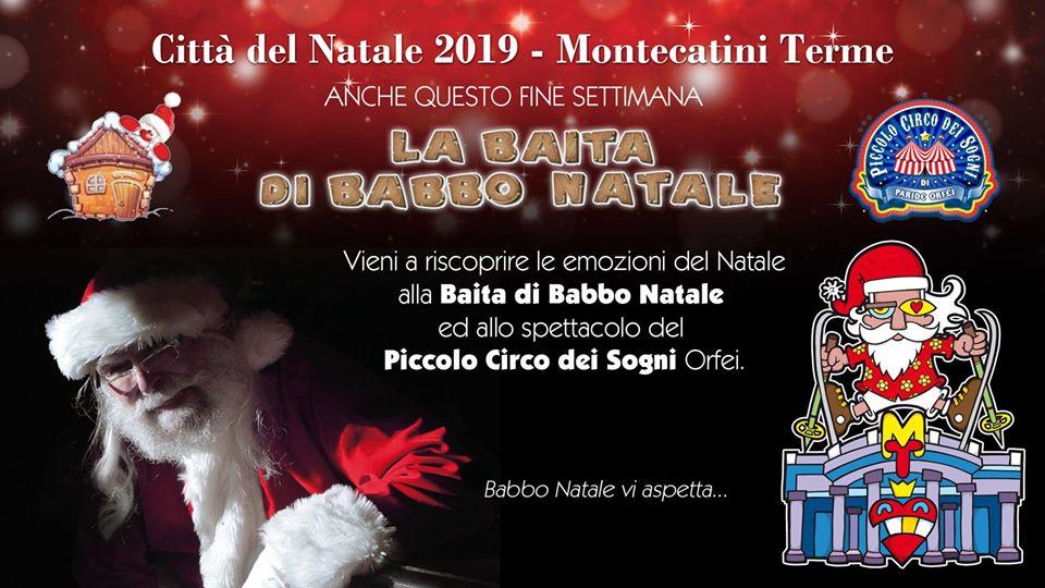 La Baita di Babbo Natale + Circo Orfei