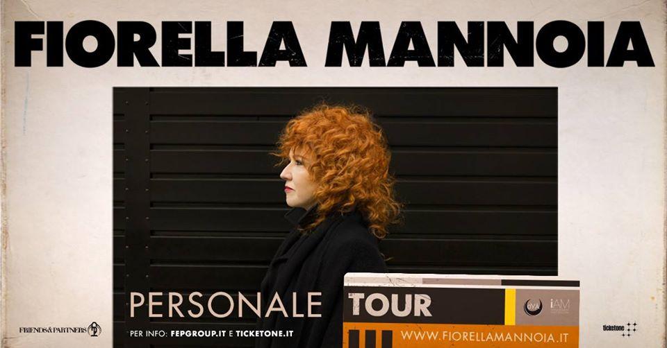 """Fiorella Mannoia in """"Personale Tour"""""""