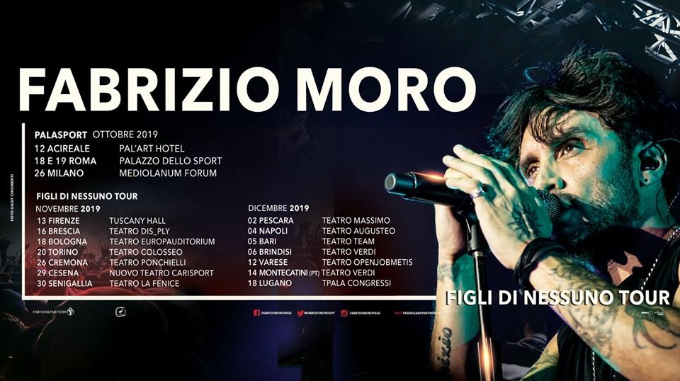 """Fabrizio Moro in """"Figli Di Nessuno Tour"""""""