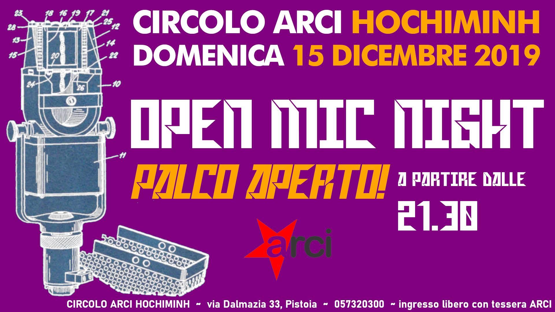 OPEN MIC NIGHT – Palco Aperto!