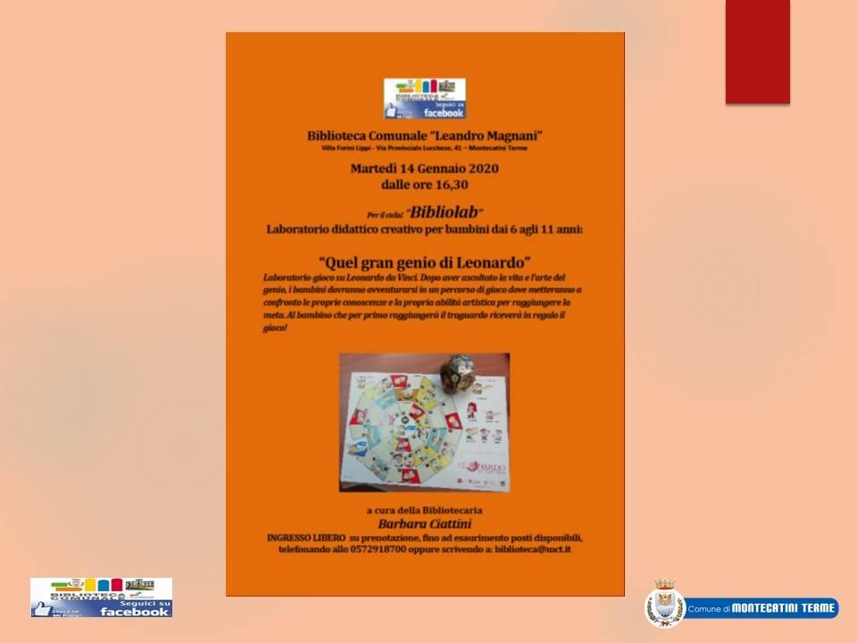 Laboratorio didattico creativo per bambini dai 6 agli 11 anni