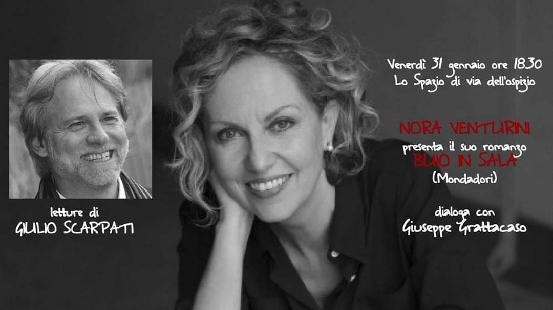 Nora Venturini presenta Buio in Sala