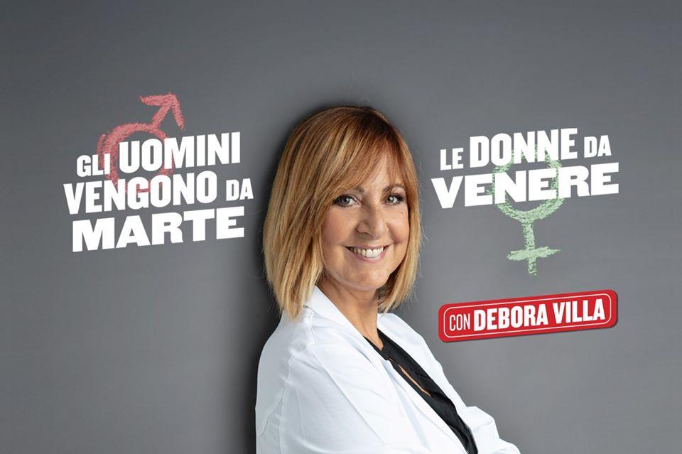 """Debora Villa """"Gli uomini vengono da Marte, le donne da Venere"""""""