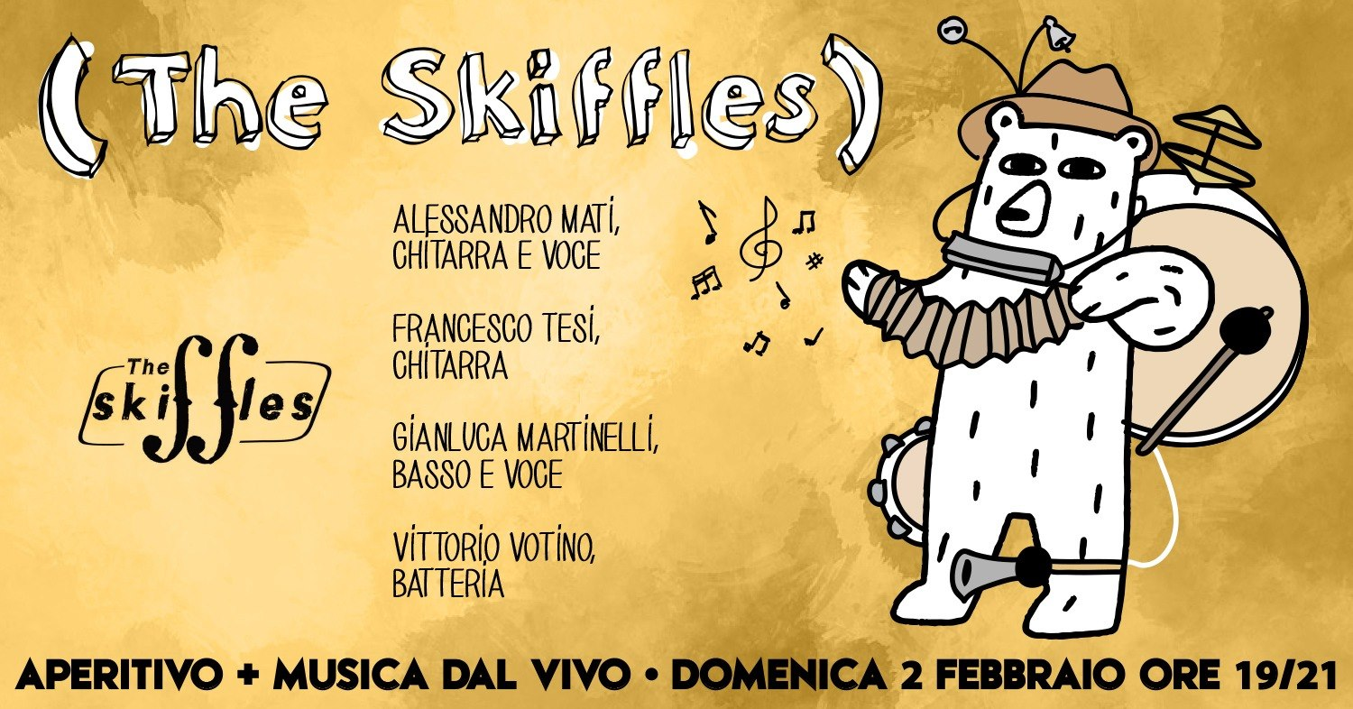 Aperitivo in Musica con The Skiffles