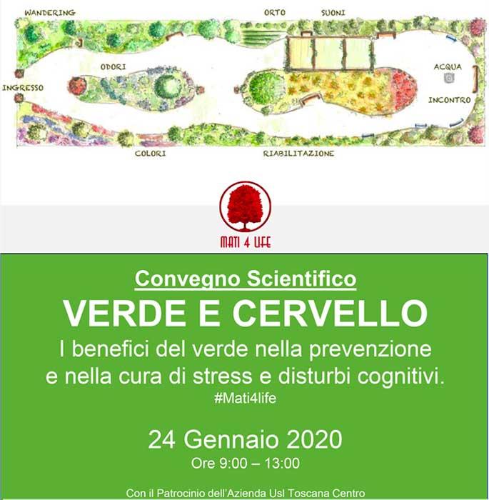 Convegno scientifico sul verde terapeutico