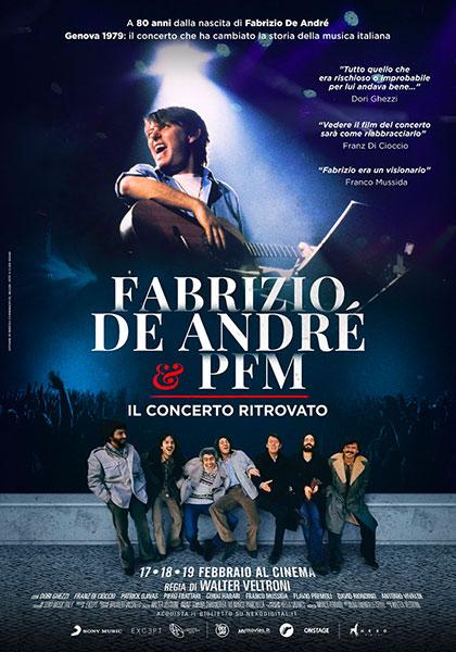 Fabrizio De Andrè e PFM: il concerto ritrovato