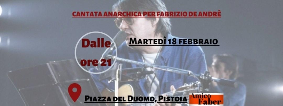 Cantata Anarchica Per Fabrizio De Andrè