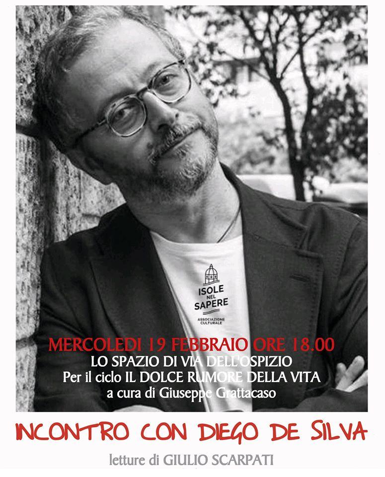 Incontro con Diego De Silva – legge Giulio Scarpati