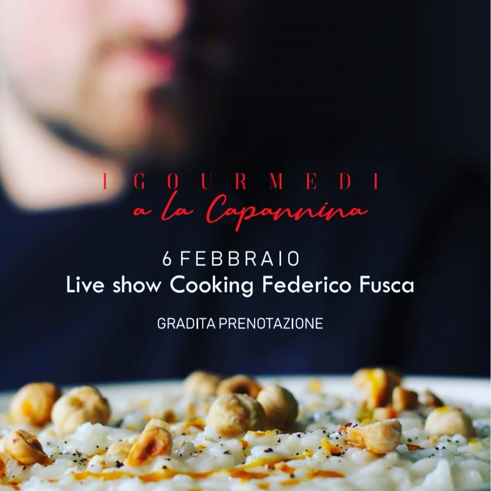 Live Show Cooking Federico Fusca
