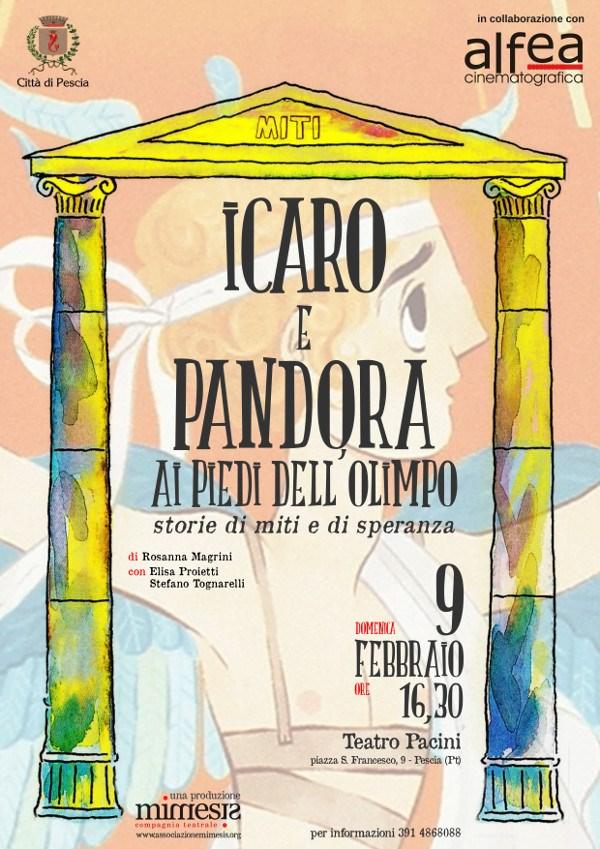 Ai piedi dell'Olimpo_Icaro e Pandora