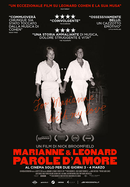 Marianne & Leonard. Parole d'amore