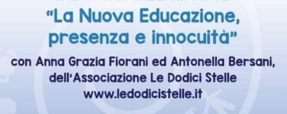 'La Nuova Educazione: Presenza ed Innocuità'