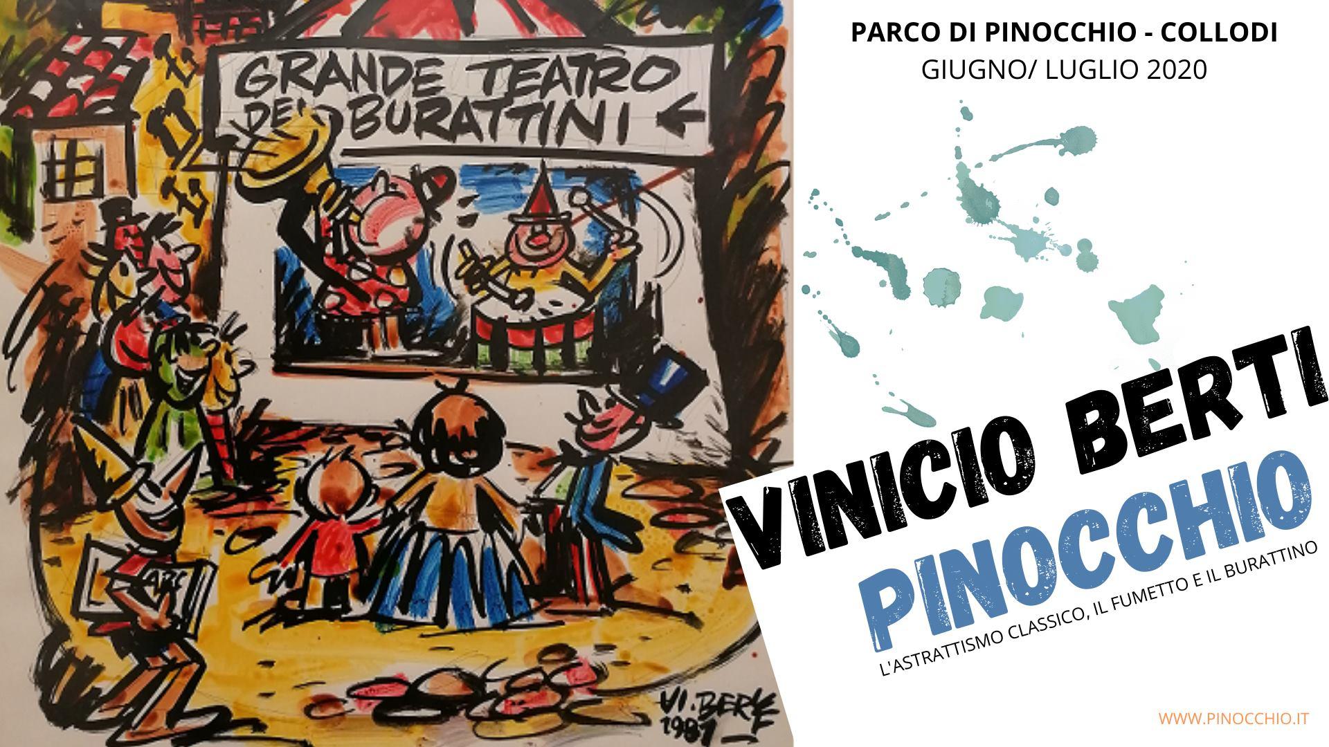 Il Pinocchio di Vinicio Berti in mostra a Collodi