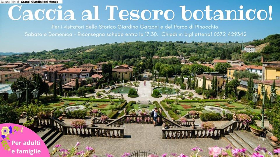 Caccia al tesoro botanico del giardino Garzoni