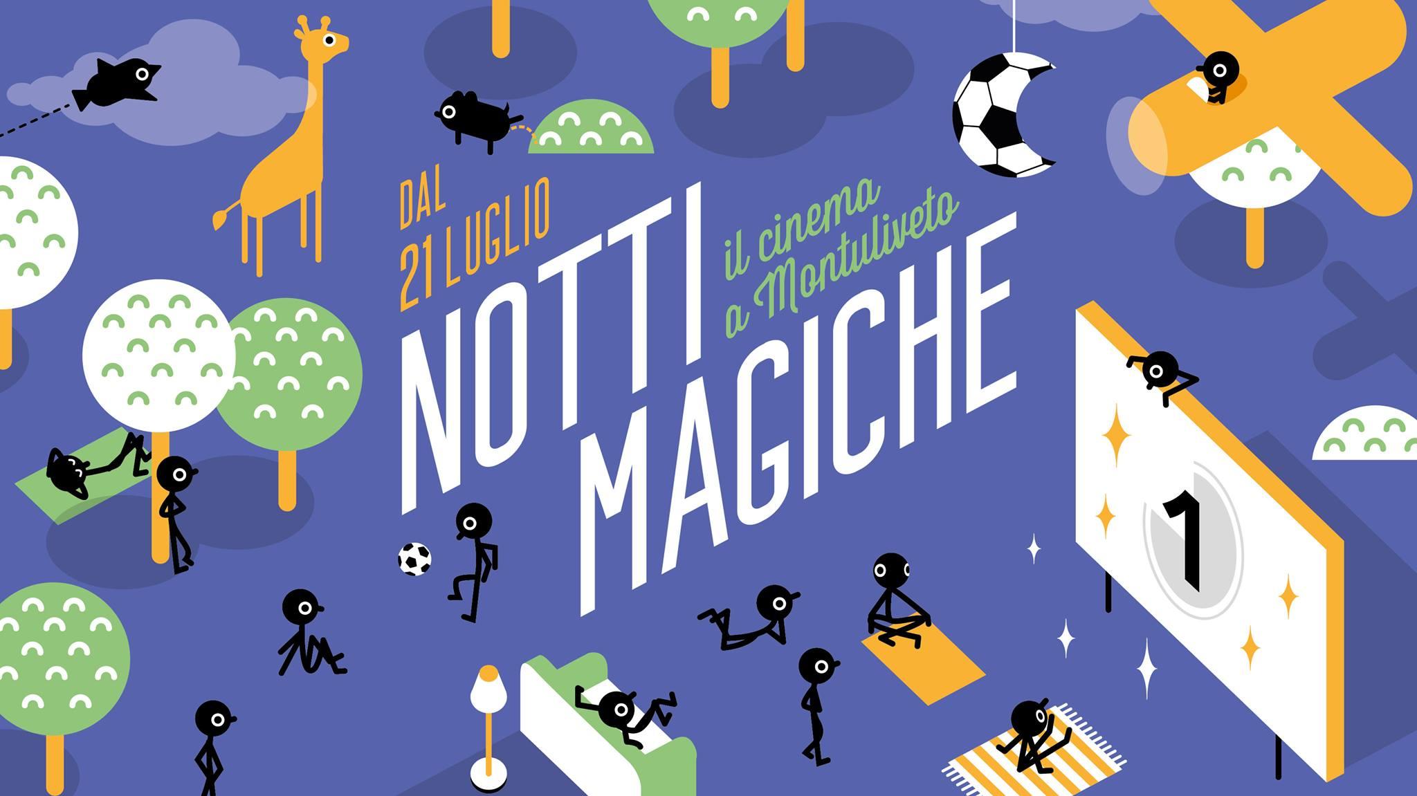 Notti Magiche: il cinema a Montuliveto