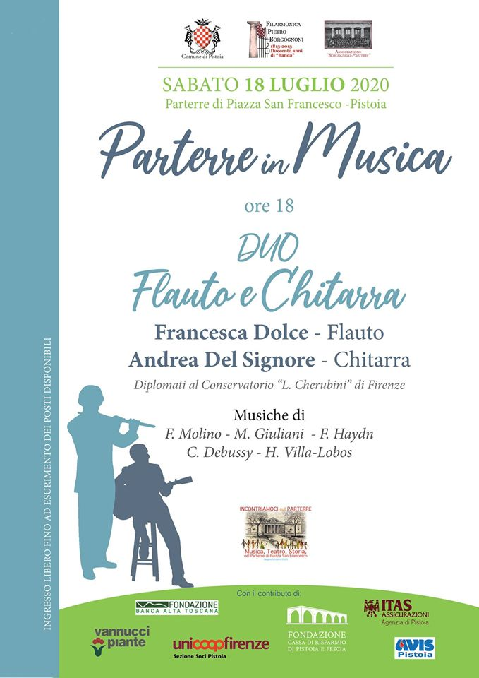 Parterre in Musica • Duo Flauto & Chitarra
