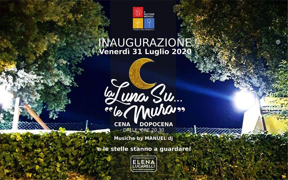 """La Luna su """"le Mura"""" cena & dopocena"""