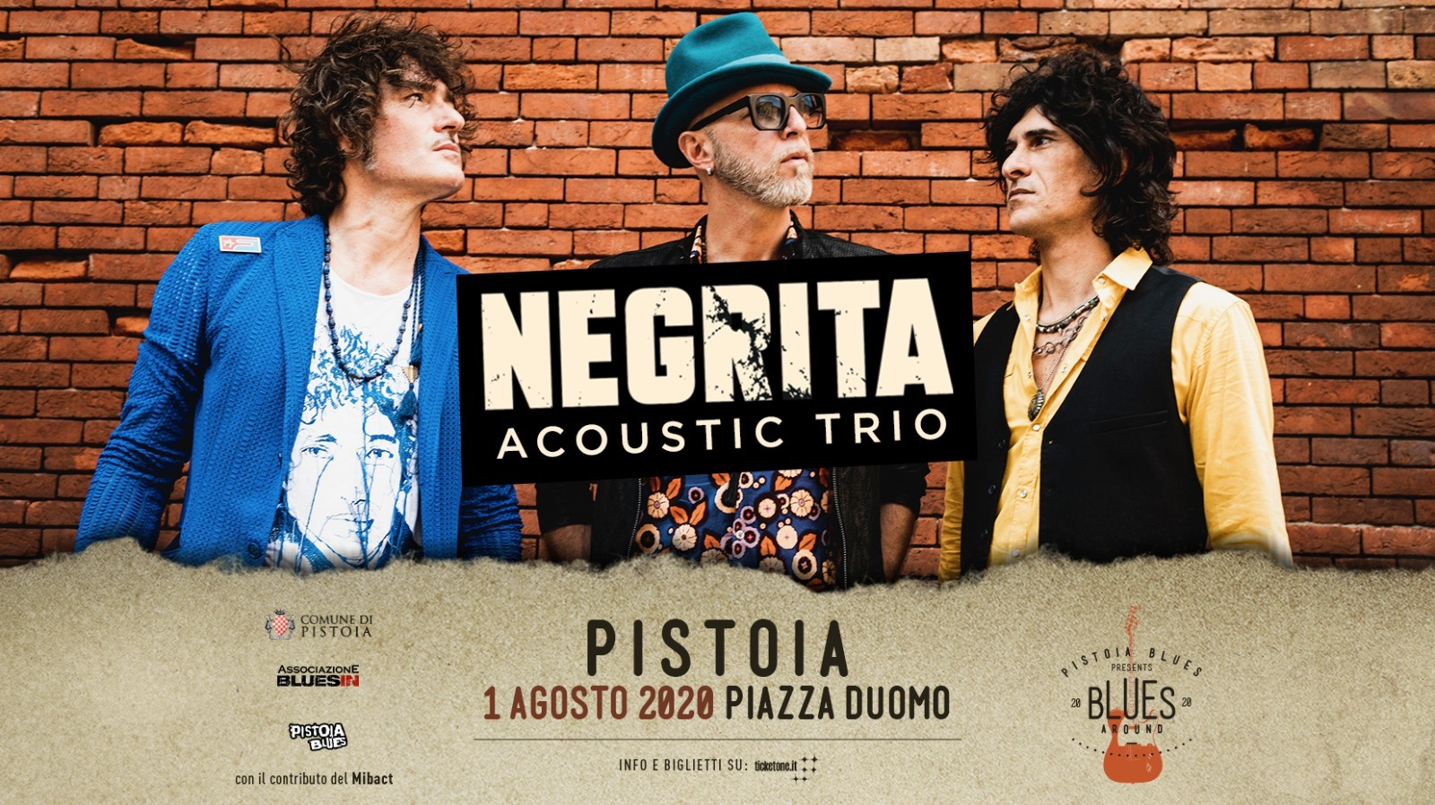Negrita Acoustic Trio – Pistoia Blues