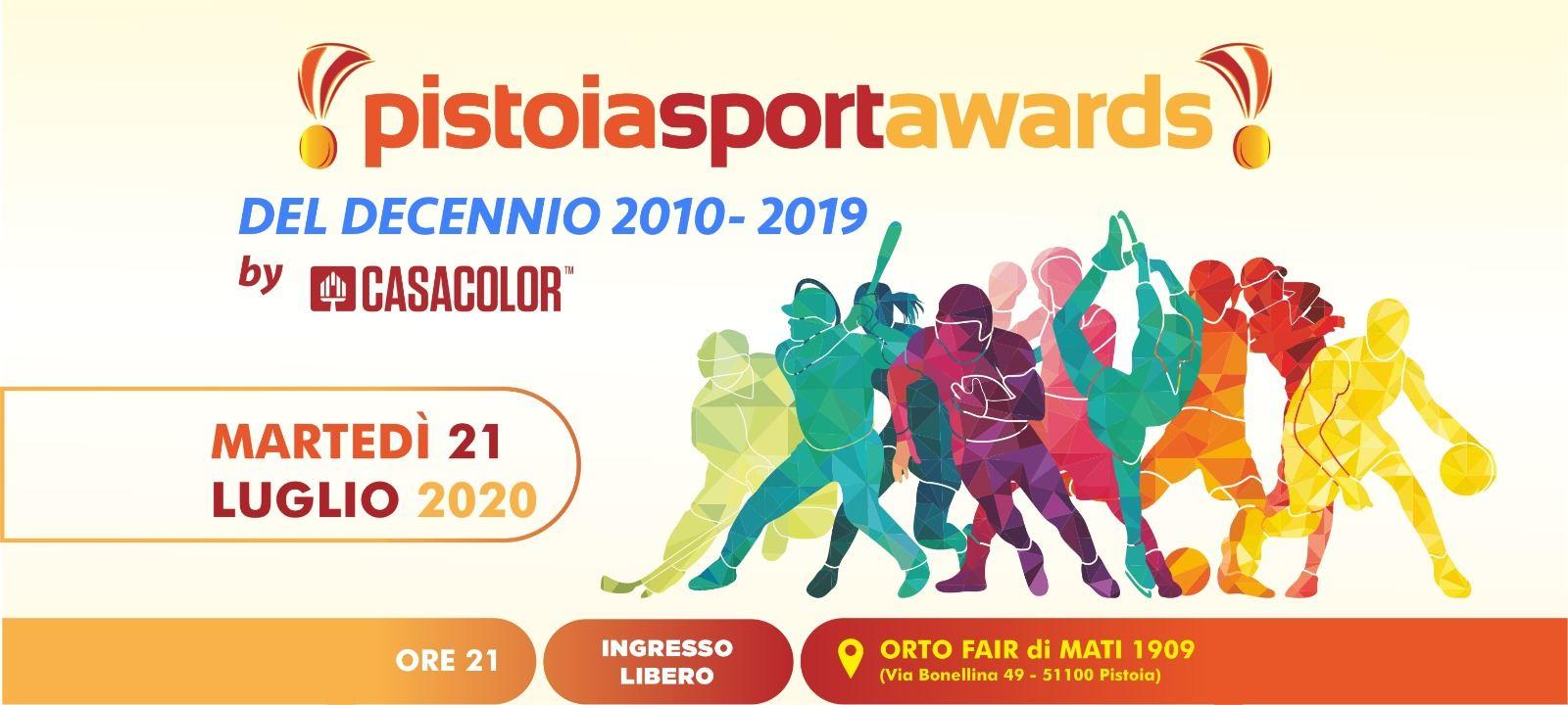Pistoia Sport Awards | I Migliori Sportivi del Decennio 2010-19