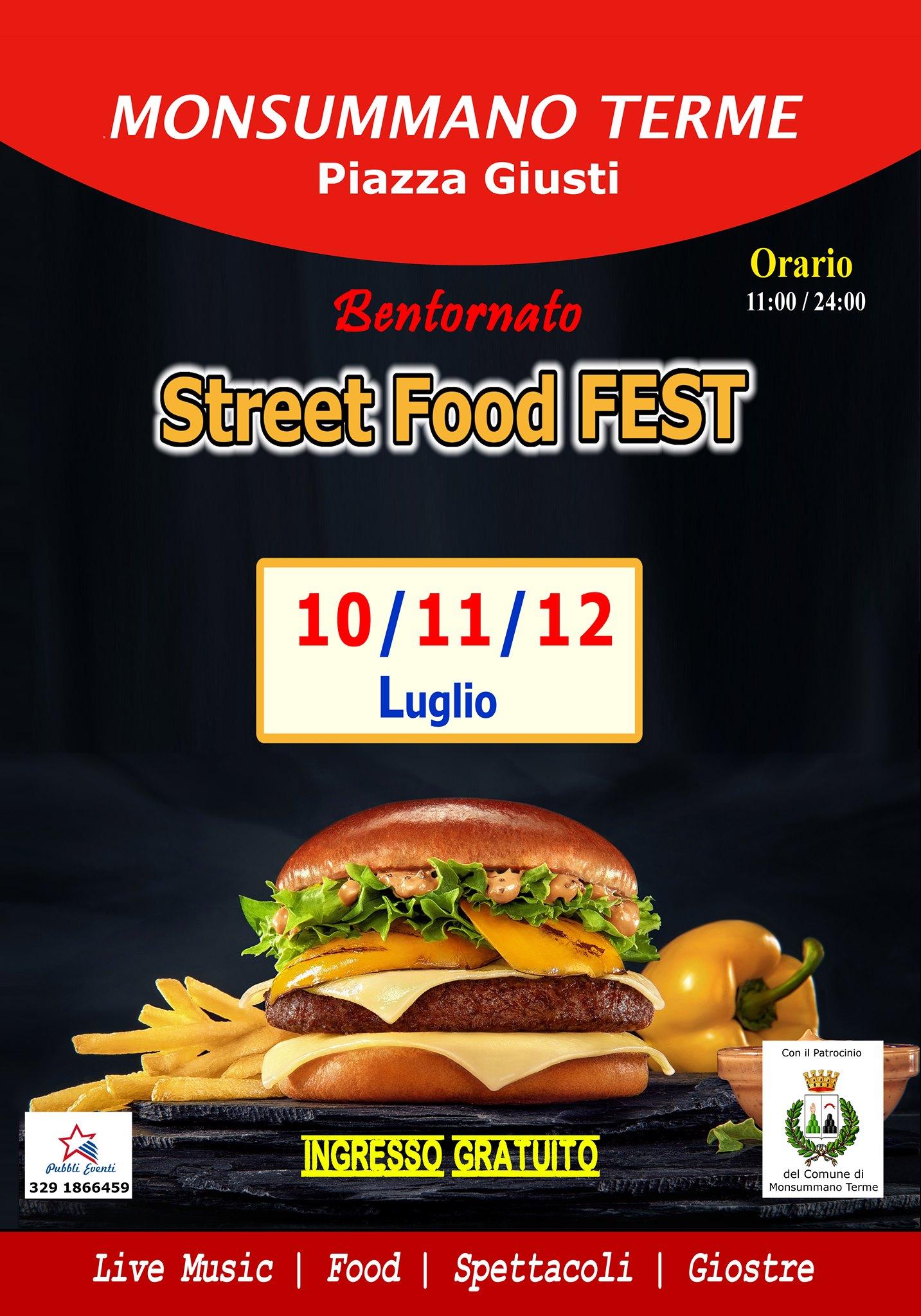 Monsummano T. Street Food FEST