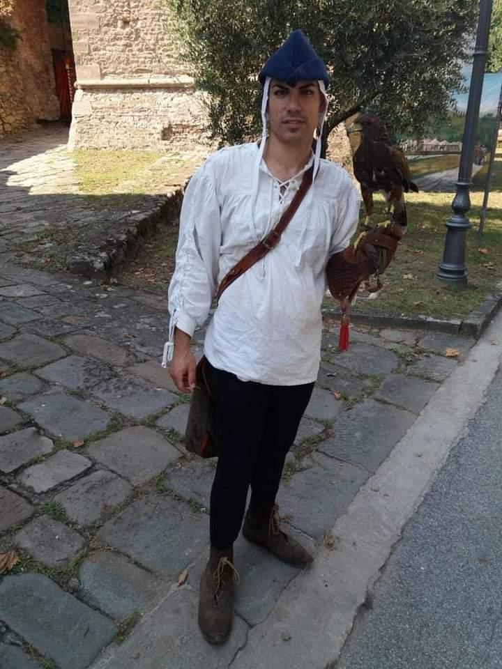 Spettacolo dei Falconieri del Granducato di Toscana