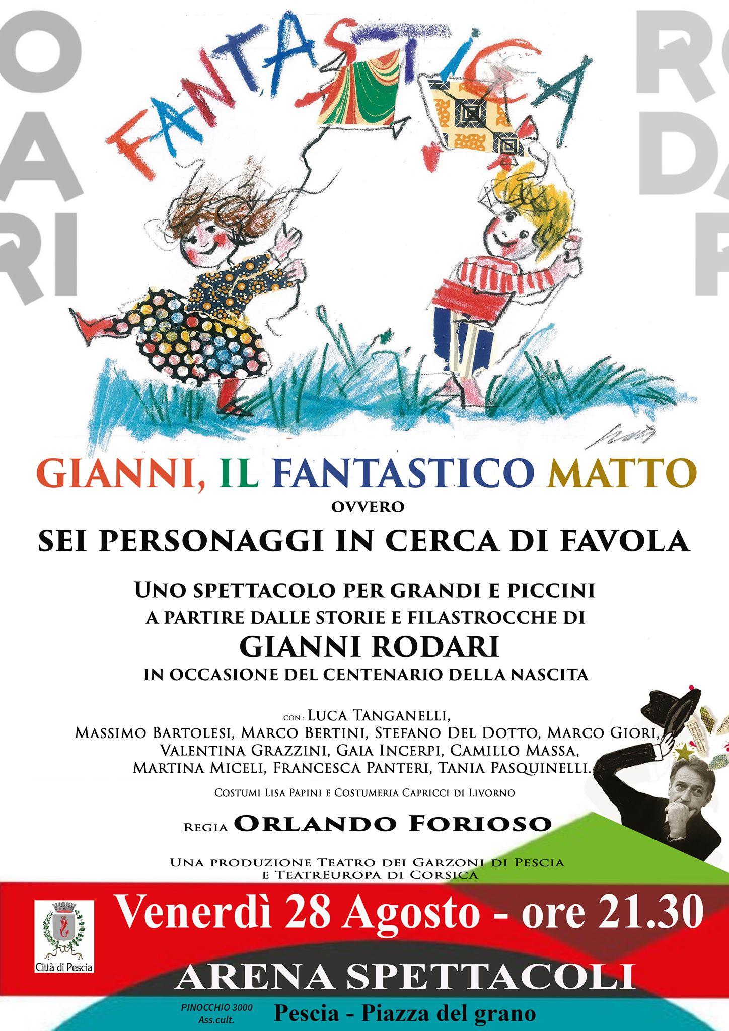 Gianni Rodari, Il Fantastico Matto