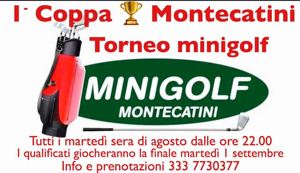 1 COPPA MONTECATINI minigolf