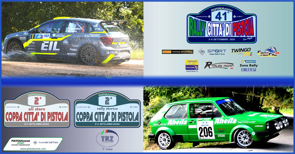 41° Rally Città di Pistoia – 2° Coppa Città di Pistoia