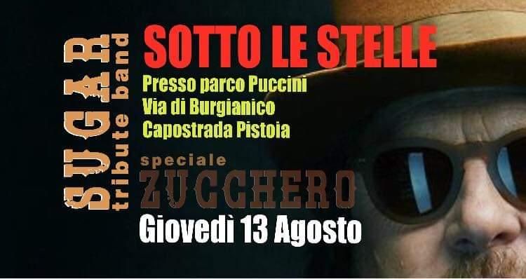 """SUGAR Tribute BAND a """"Capostrada sotto le stelle"""""""