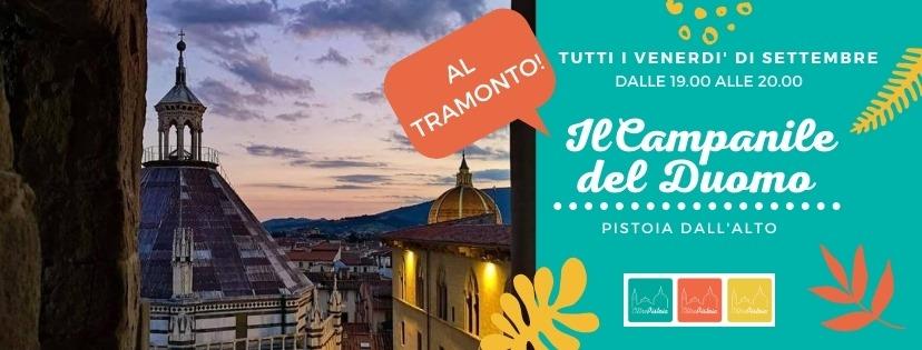 Il Campanile del Duomo – Pistoia dall'alto
