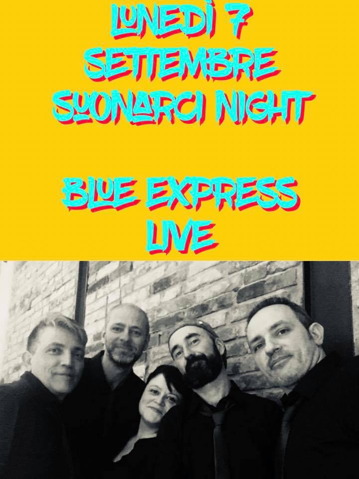 suonARCI night: BLUE EXPRESS LIVE